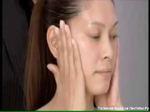 Японский массаж лица Асахи Зоган)   Русская озвучка   Yukuko Tanaka's Fa...