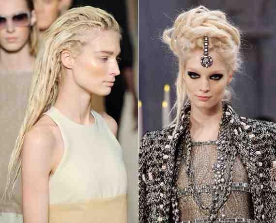 Hair Inspiration 1 - High fashion dreadlocks