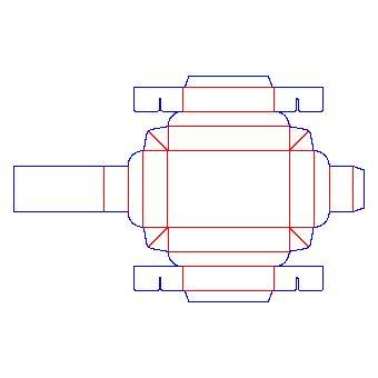 box template design