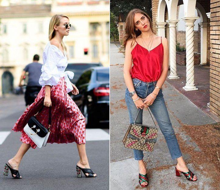 Модная обувь 2017: мюли // С чем носить мюли // Mules 2017, how to wear mules #outfit