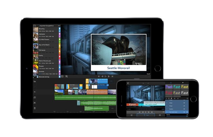 LumaFusion Editing App  iMovie is now a great video editor for casual use. However, to take things to the next level we suggest trying LumaFusion. This app is aimed at filmmakers and journalists on the go. Included is a multi-track editing with realtime preview, effects and transitions, a powerful titler and a superb animation creator (although a little crazy). It's the closest thing to a desktop editing experience we think you'll find.