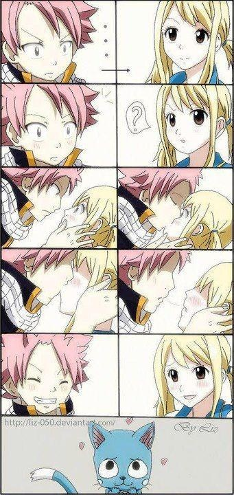 NaLu <3 and then there's happy