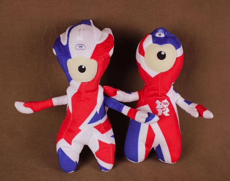 Olympic Game Mascot Plush Dolls * London 2012 Wenlock Union Flag Jack Mandeville 9780399215926 | eBay