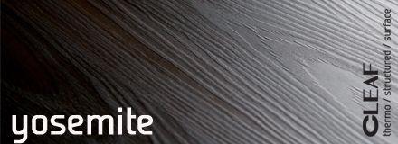 Cleaf Yosemite to struktura imitująca delikatnie spęczniałe drewno. Jest ona w pełni zsynchronizowana z kolorem, a dzięki specjalnej technice zastosowanej podczas produkcji, powierzchnia płyty wydaje się płynna i wypolerowana, przy zachowaniu nowego, charakterystycznego efektu 3D. więcej: http://www.forner.pl/pl/cleaf-yosemite-struktura-z-kolekcji-forner-59-cleaf