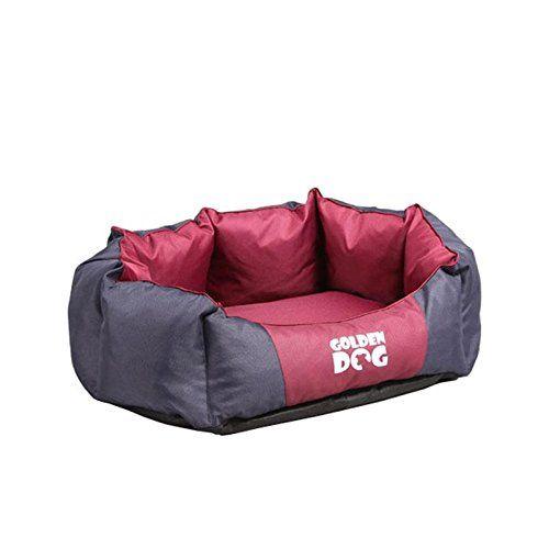 Aus der Kategorie Betten  gibt es, zum Preis von EUR 39,90  <p><b>Hundebett Korona</b></p> Verwöhnen Sie Ihren besten Freund mit einem komfortabel gepolsterten halbrunden Schlafplätzchen und er wird sich bei Ihnen puddelwohl fühlen. Der Hundeliegeplatz bewirkt dank seiner Polsterung ein warmes und wohliges Gefühl und bettet Ihren Vierbeiner in einen wohligen Schlaf.  <p><b>Alle Vorzüge auf einen Blick:</b></p>  <p><b>Material:</b></p> Bezug aus 100% Polyester  <br /> Füllung aus…