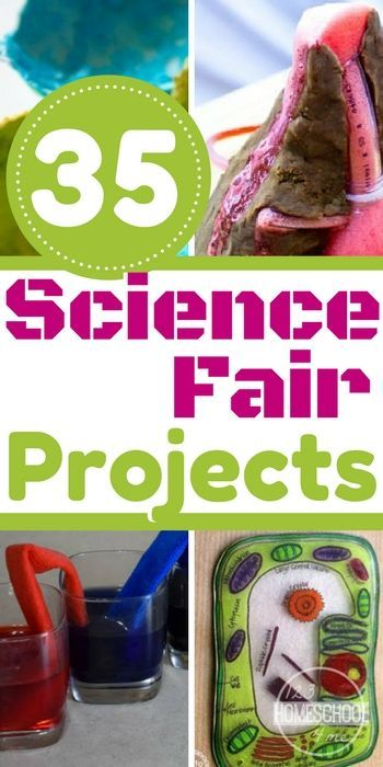 35 Science Fair Projects that are SUPER cool! So many creative and unique science experiments for kids of all ages covering all sorts of different areas of science for preschool, kindergarten, first grade, 2nd grade, 3rd grade, 4th grade, and 5th grade students.
