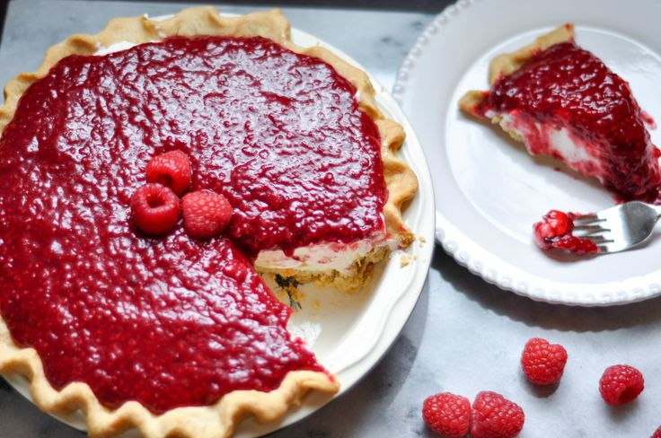 Copycat Briermere Farms Raspberry Cream Pie — The Sweet & Sour Baker