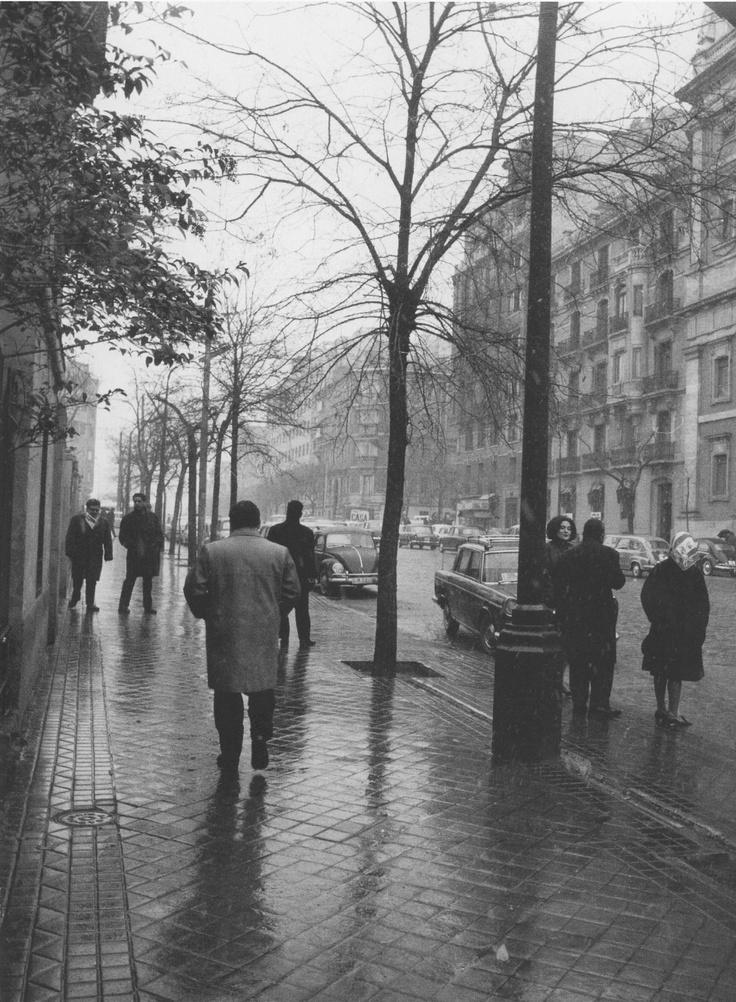 Madrid 1965. Calle Serrano