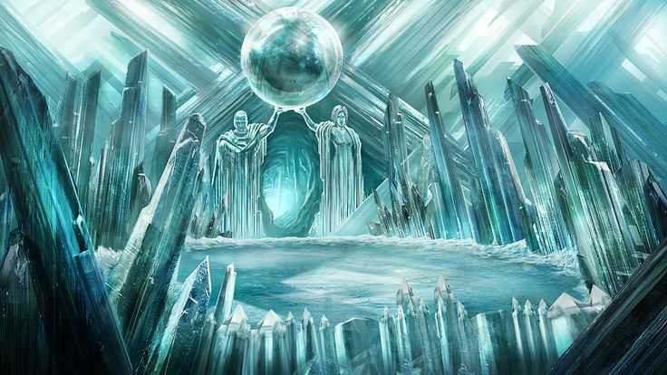 One beautiful image of the Fortress of Solitude