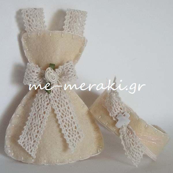 Χειροποίητη μπομπονιέρα βάπτισης, φουστανάκι (11 cm), τσόχα, με δαντέλα και σατέν λουλουδάκι..Handmade mpomponiera Me Meraki Mpomponieres Χειροποίητη μπομπονιέρα βάπτισης, φορεματάκι τσόχα, με βραχιολάκι για μαρτυρικό βάπτισης. Με Μεράκι Μπομπονιέρες www.me-meraki.gr Μπομπονιέρες Βάπτισης Μπομπονιέρα Βάπτισης me-meraki.gr/...
