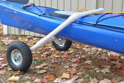 DIY  Kayak Cart Instructions