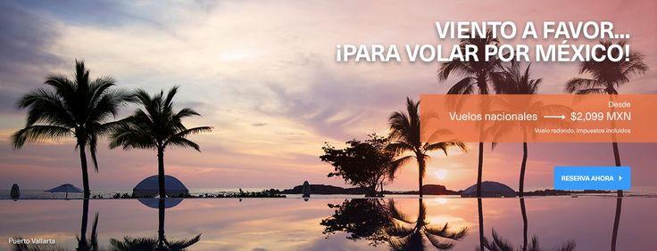 Viaja por la aerolínea de México. Aprovecha nuestros vuelos a más de 65 Destinos y disfruta tus vacaciones con Aeroméxico
