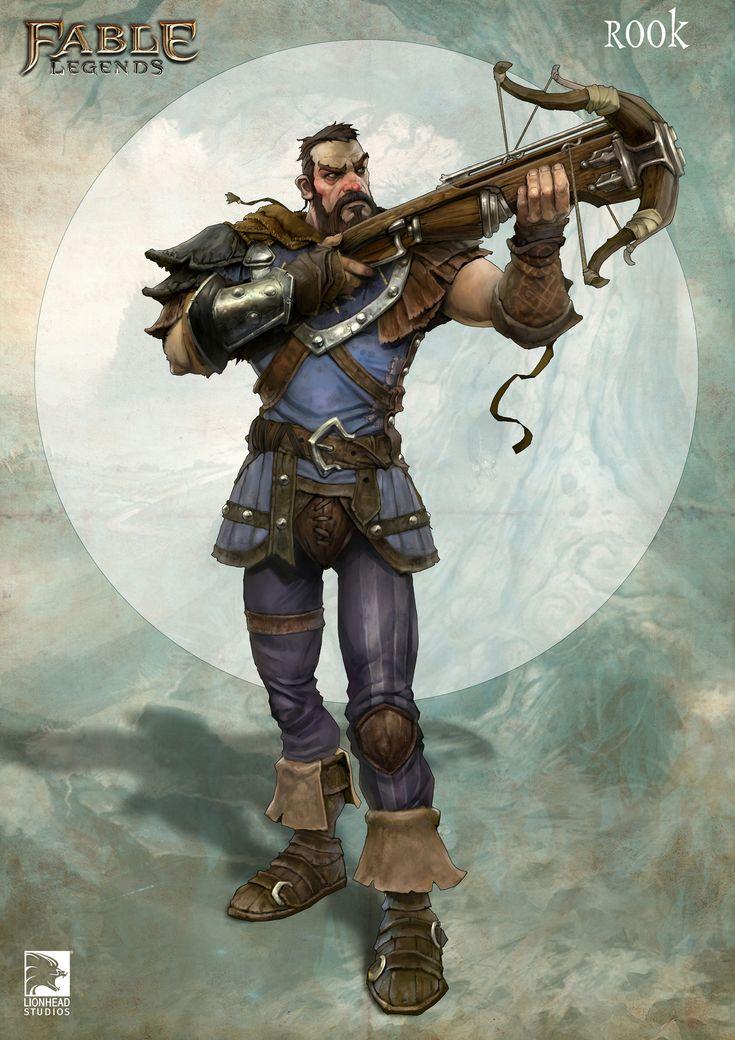ArtStation - Rook, Fable Legends Hero, Mike McCarthy