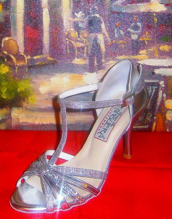 New!!! ''Antonina'' TANGUERA's Shoes in Greece by Todos Bailar!!!  Silver Dreams...Χειροποίητη Νυφική Συλλογή!!! https://www.facebook.com/TangueraBridalShoesInGreece