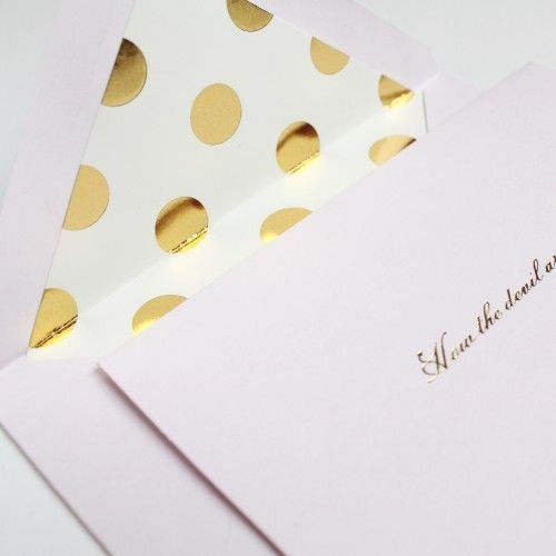 Bow Street: The Stationery Edit | 'How the devil are you' notecards by kate spade new york from Quill London