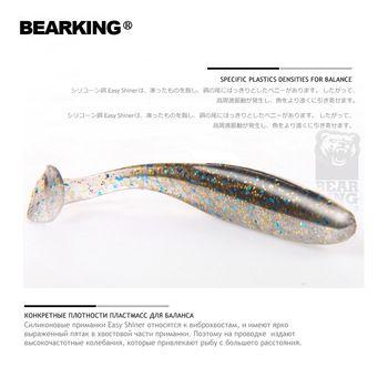 <b>2018</b> Bearking Easy Shiner Silicone Soft <b>Bait</b> professional <b>Lure</b> 3 ...