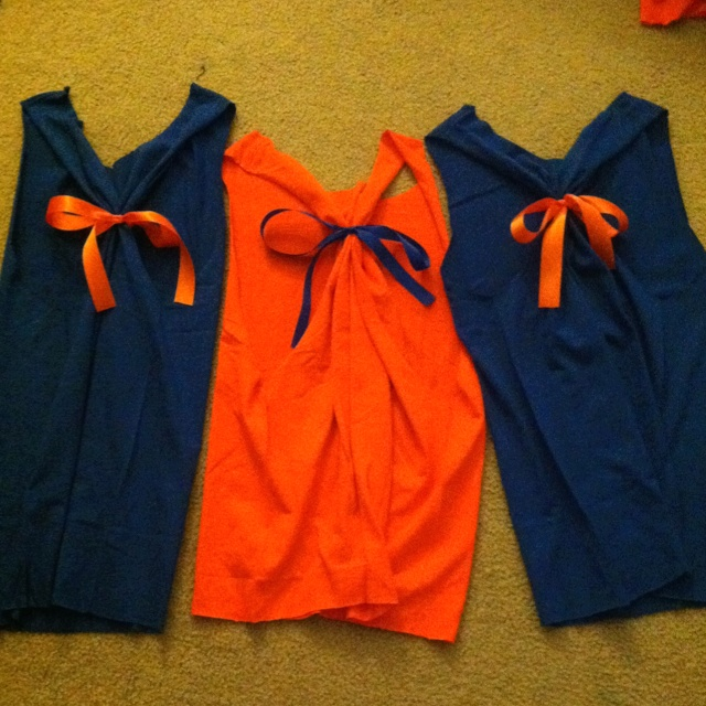 Gator game day shirts--could I use for a dance team costume?