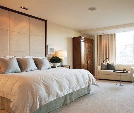 1000 images about headboards on pinterest - Floor to ceiling headboard ...