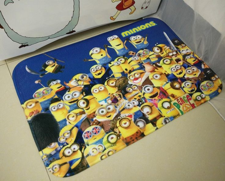 2016 Hot Minions Carpet Manufacturers Selling High Quality Doormat Mat For Bathroom pet Cushion