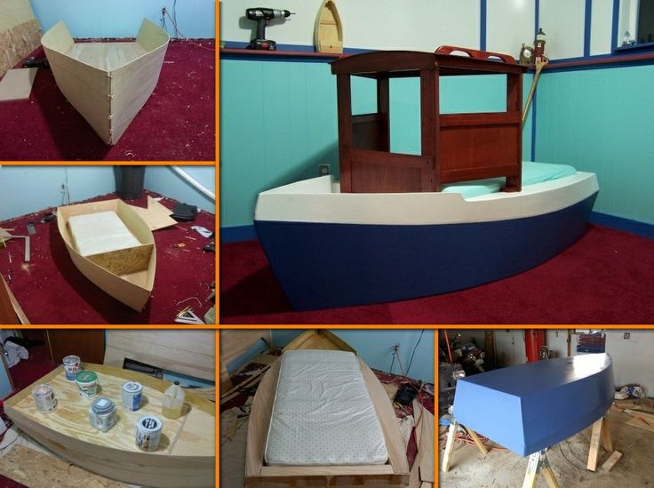 A bed the kids will surely enjoy, and it's completely DIY! Learn how to make this boat bed by viewing the full album of the project at http://theownerbuildernetwork.co/z4mk Would you consider building one for your child?
