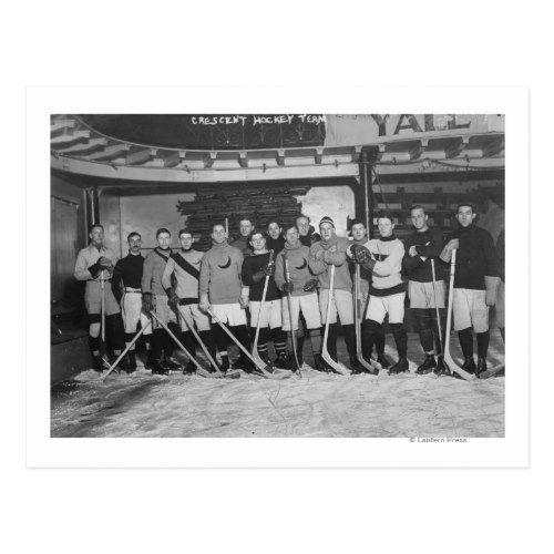 New York Crescents - Hockey Team Photograph Postcard