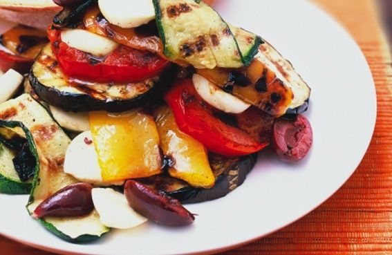Char-Grilled Vegetable Salad | SAFE: New Zealand Animal Rights