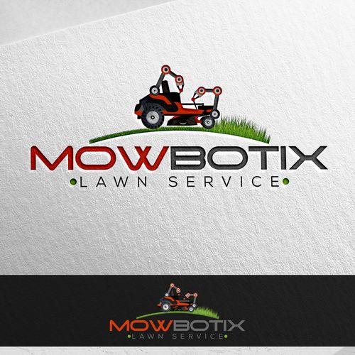 MowBotix - New Lawn Company using Robotic Mowers needs a logo We are starting a new business of doing lawn mowing with our own autonomous mowers technology. Video of the equipment...