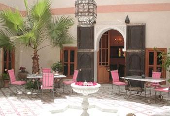 pink outdoor furniture