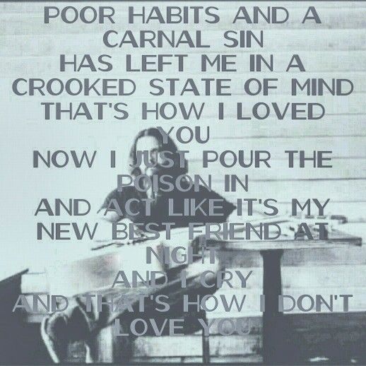 One of my favorites by Jamey Johnson.