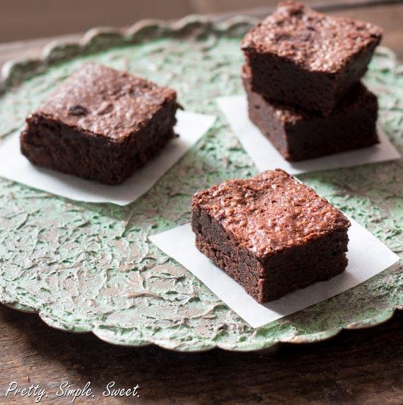 The Baked Brownie Recipe With Images Brownie Brownie
