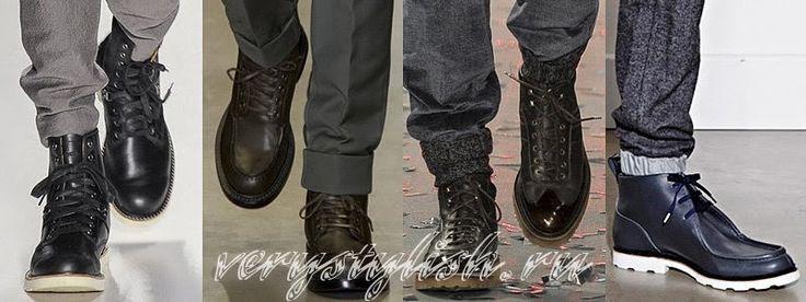 Winter 2015 Men Shoes Fashion Trends