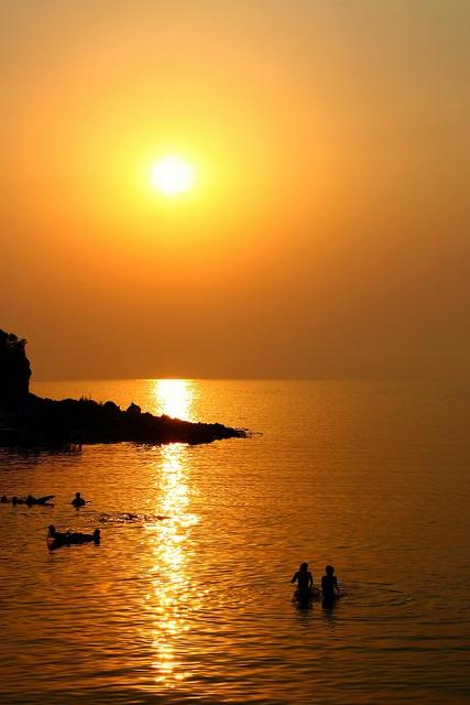 Sunset in Amasra, Turkey