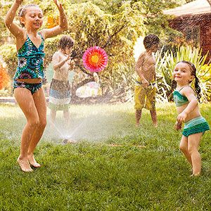 Just add water... and you'll have a birthday party that really makes a splash!