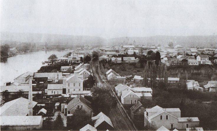 Calle los Canelos hoy general Lagos hacia el norte 1909