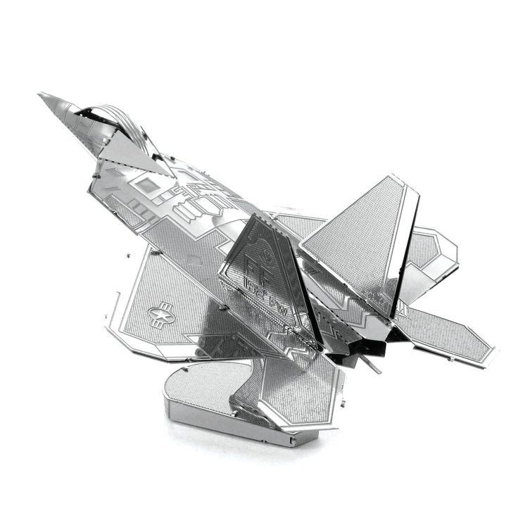 Fascinations Metal Earth 3D Metal Model Kits, F-22 Raptor
