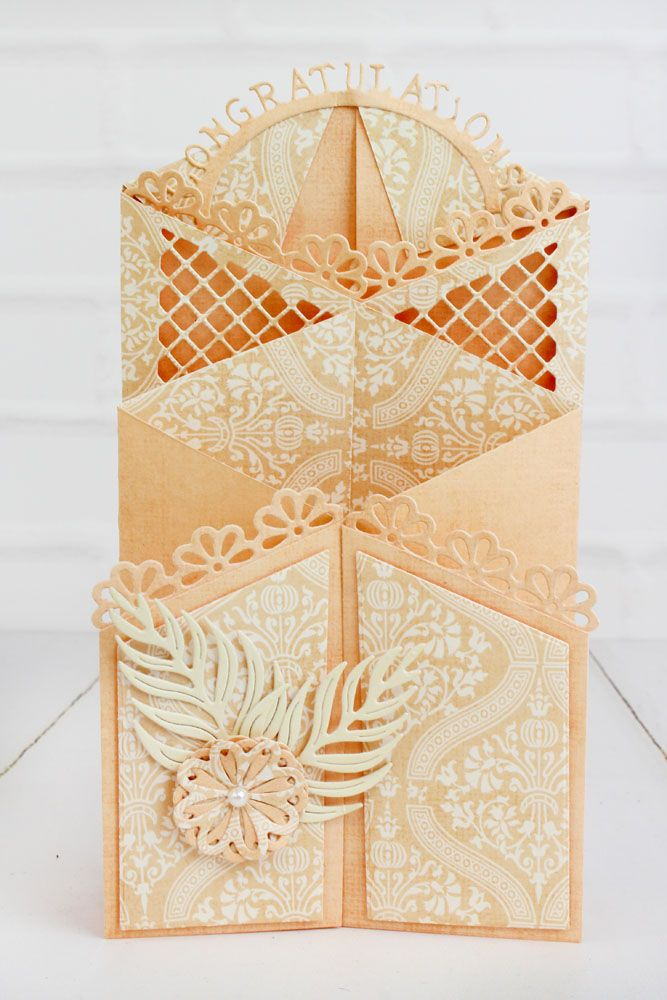 Tattered Lace - Dies - Essentials Zig Zag Cascade Card (requires 9 ...