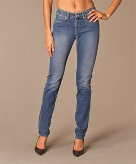 Armani Jeans Regular Jeans - Medium  Blauw