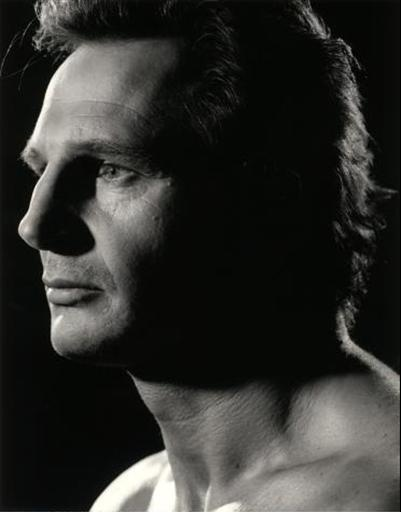 Liam Neeson | by Greg Gorman