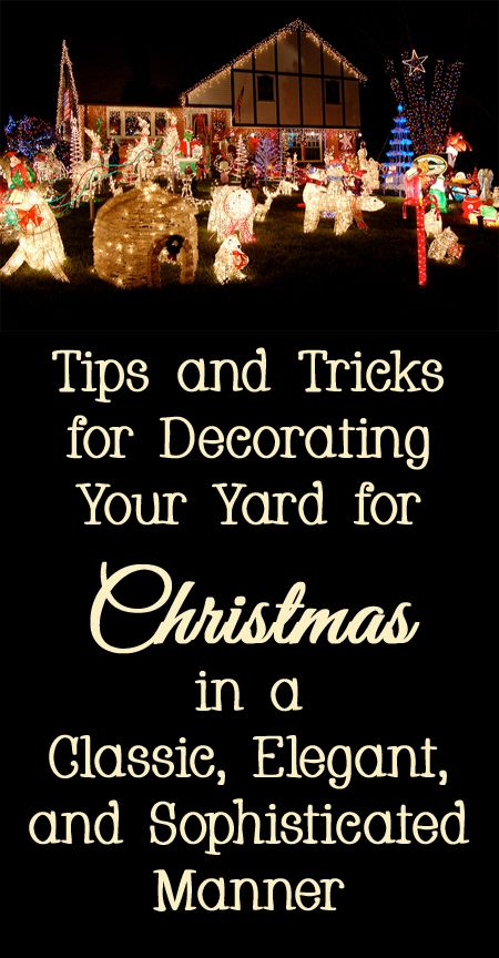 25 Best Ideas About Christmas Displays On Pinterest