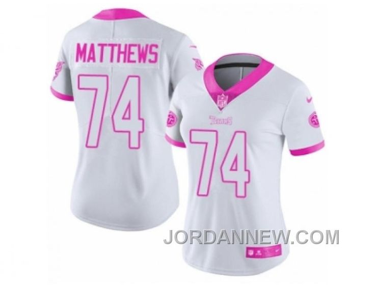 http://www.jordannew.com/womens-nike-tennessee-titans-74-bruce-matthews-limited-white-pink-rush-fashion-nfl-jersey-super-deals.html WOMEN'S NIKE TENNESSEE TITANS #74 BRUCE MATTHEWS LIMITED WHITE PINK RUSH FASHION NFL JERSEY LASTEST Only $23.00 , Free Shipping!