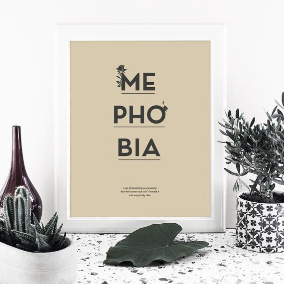 Quote print Printable art Instant download digital by MessProject  #instantdownload #digital #etsy #messproject