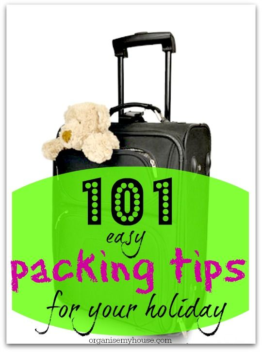 - Put underwear and smaller items into shoes etc.. to save space – use every space available and you will get more into the bag - Don't slip in extra stuff if you have extra room – edit as you pack – you can save some room for souvenirs!