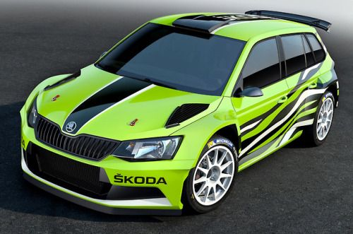 Skodafabia R5 Combi Concept 2015 A Prototype Estate Based On
