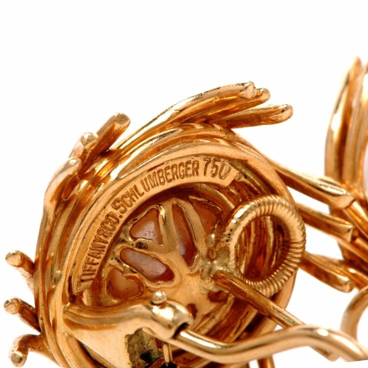 tiffany gold jewelry marks
