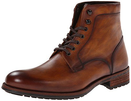 Magnanni Men's Marcelo Engineer Boot,Cognac,7 M US Magnanni
