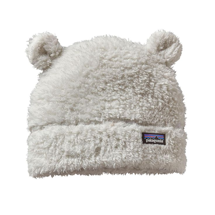 Patagonia Baby Furry Friends Hat | Birch White