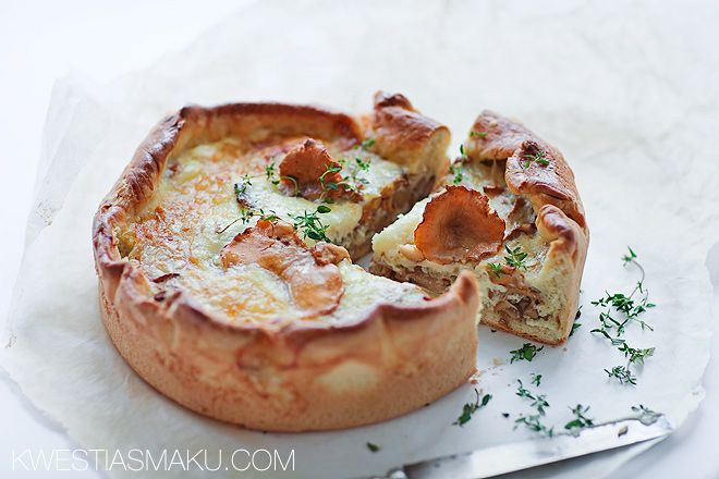 Tart dough with mushrooms, chanterelles--There are some wonderful recipes on this site.  In Polish.  Google Translate fails at Polish recipes>>JD