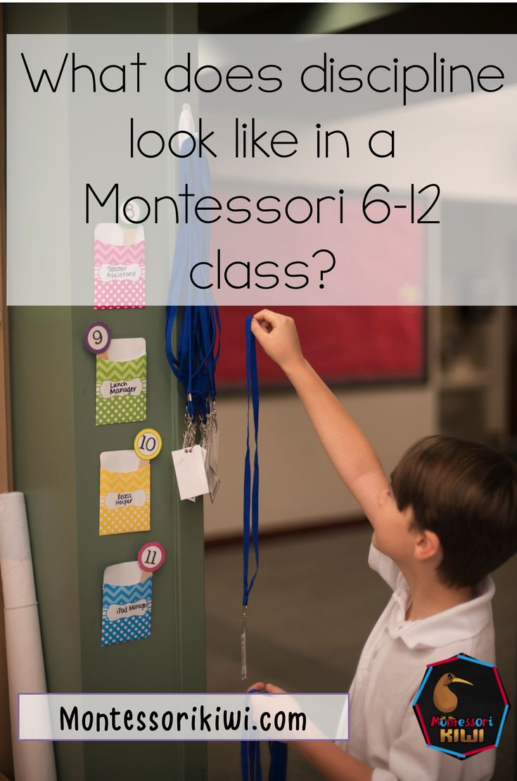What does discipline look like in a montessori 6-12 class. How important are logical consequences and community?