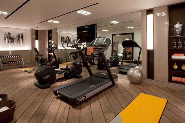 Not really a weight slinging gym but its nice and classy
