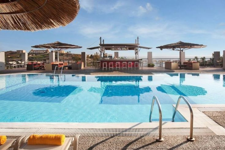 Discount 4* All-Inclusive Crete Spa Escape, Sea View Room & Flights for just £279.00 Where: Agia Pelagia or Sissi, Crete, Greece.   What's included: A seven-night stay in side sea view room on an all-inclusive basis with return flights.   Hotel: Stay at the gorgeous 4* Blue Bay Hotel or Sissi Bay Hotel & Spa, just minutes from the beach!  Area: Venture down to the beach just a short amble...